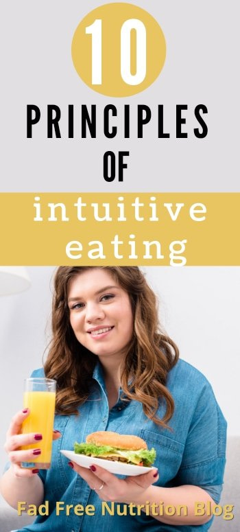 What are the basics of intuitive eating