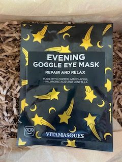 Eye sheet mask Sleep Tight Essential oils from the Therabox August 2020 box