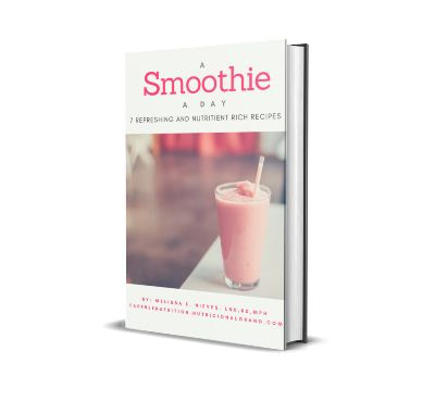 Fee smoothie ebook with smoothie recipes