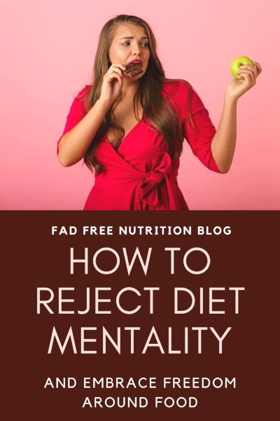 What is diet mentality and how to ditch it