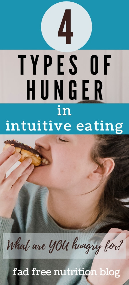 hunger types in intuitive eating