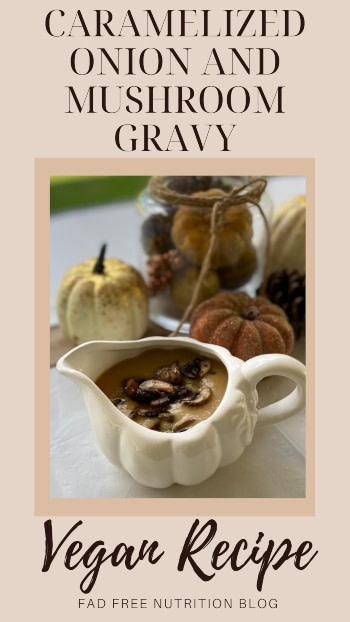 vegan gravy mushrooms