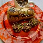 Vegan Stuffed Butternut Squash Recipe with Classic Stuffing