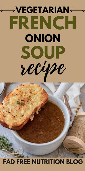 Vegetarian French Onion Soup Recipe Pinterest