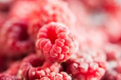Frozen raspberries are just as nutritious as fresh