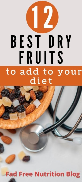 Types of dried fruit