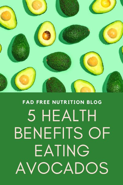 health benefits of eating avocados