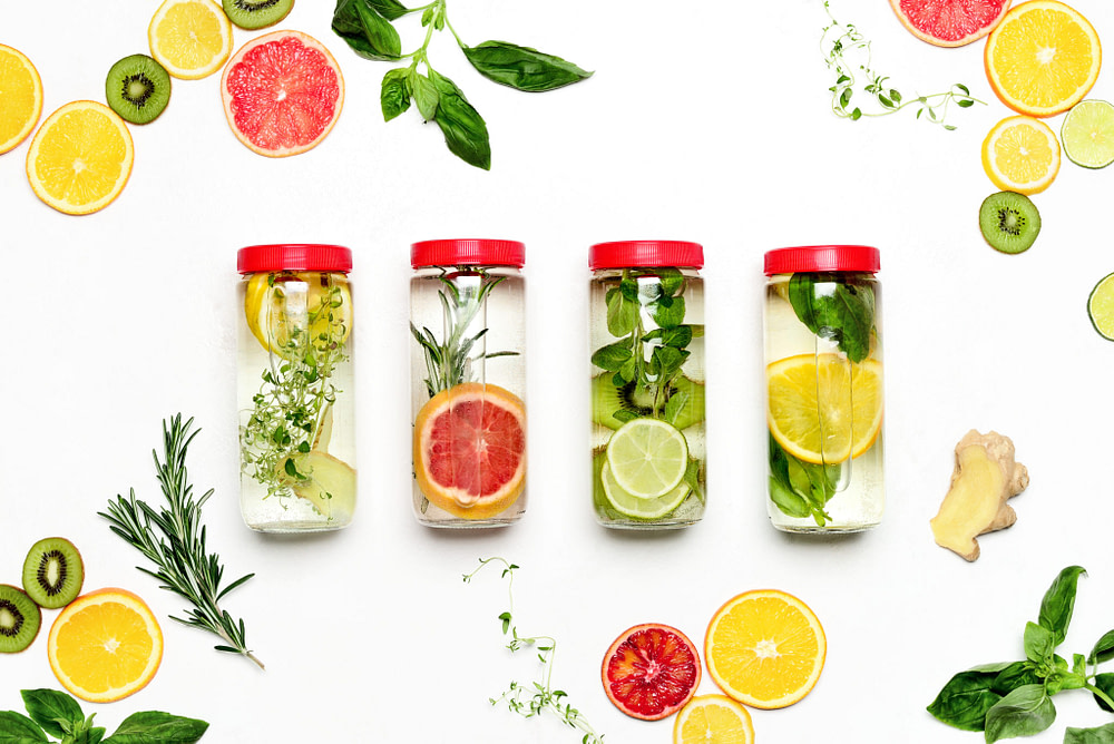 Health benefits of infused water