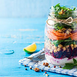 How to make jar salads: 5 simple steps (plus 1 tasty recipe)