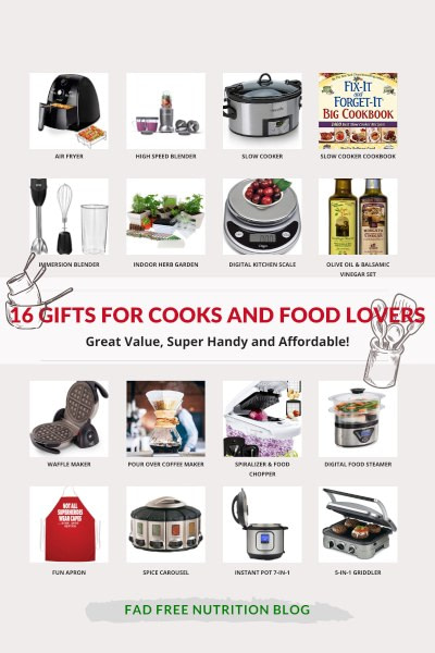 Gift guide for cooks and food lovers